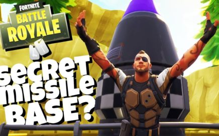 Finding the Secret MISSILE BASE! -  Fortnite Battle Royale Gameplay - Fortnite Season 4