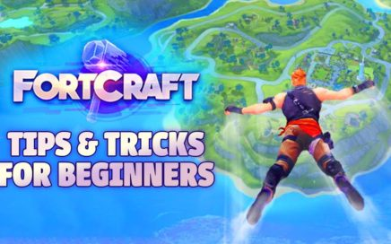 FORTCRAFT - TIPS & TRICKS FOR BEGINNERS (Fortnite Mobile Clone)