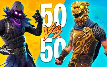 FORTNITE 50 vs 50 V2 GAMEPLAY LIVE!! (Fortnite Battle Royale)