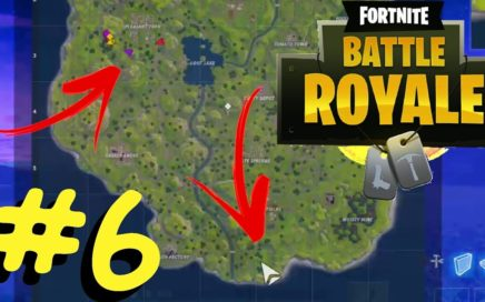 Fortnite Battle Royale #6 - Me separei do esquadrão e olha no que deu