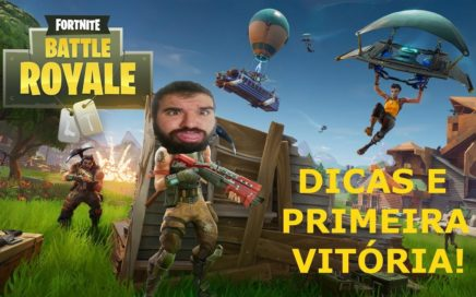 FORTNITE BATTLE ROYALE - DICAS BÁSICAS PARA INICIANTES E PRIMEIRA WIN!!!