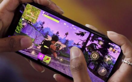 FORTNITE BATTLE ROYALE Mobile Trailer iOS iPhone X Gameplay - Disponible YA!