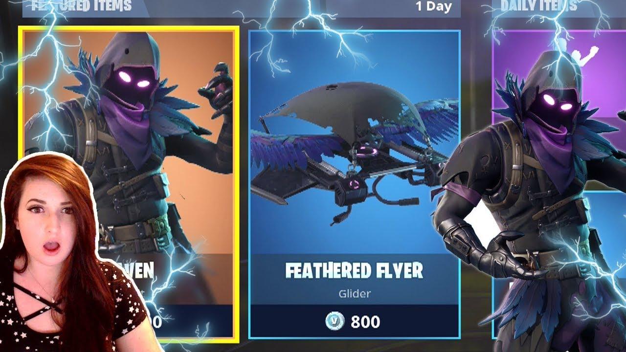 Raven Fortnite Giveaway Fortnite New Raven Skin And Feathered Flyer Gameplay Fortnite New Raven Skin Update Fortniteros Es