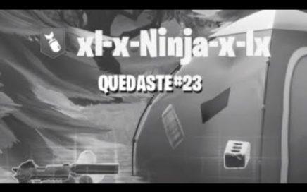 Fortnite|xl-x-Ninja-x-lx|Jugando En Cuenta Noob
