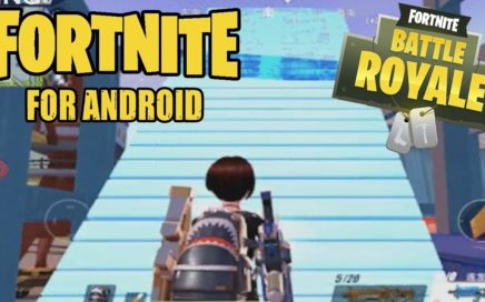 ¡Gameplay de FORTNITE para android e información! 2018