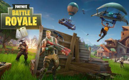 Gameplay Fortnite Battle Royale en squad/12 wins