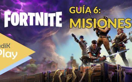 GUIA 6: MISIONES | FORTNITE | TUTORIAL ESPAÑOL