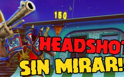 HEADSHOTS SIN APUNTAR | FORTNITE BATTLE ROYALE