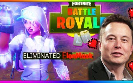 I KILLED ELON MUSK IN FORTNITE! | Fortnite Battle Royale Gameplay