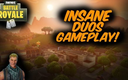 INSANE DUOS GAMEPLAY! (Fortnite Battle Royale)