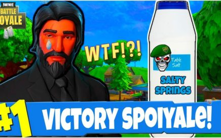 John Wick Player Skin RAGES in Fortnite Battle Royale (Fortnite BR Funny Moments Gameplay)