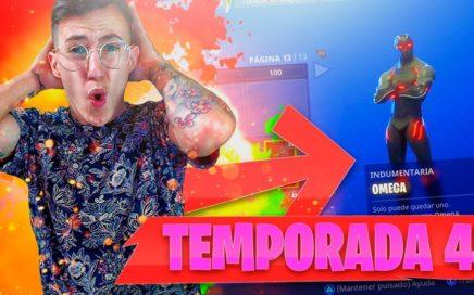 JUGANDO EL*NUEVO PASE DE TEMPORADA 4* | FORTNITE: BATTLE ROYALE!