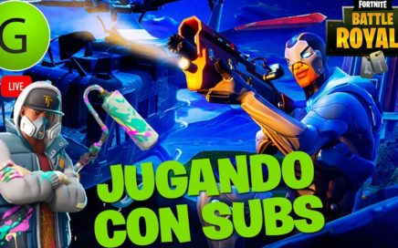 JUGANDO SON SUSCRIPTORES | FORTNITE BATTLE ROYAL