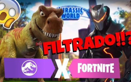 JURASSIC WORLD X FORTNITE FILTRADO!!? -Futuros eventos en Fortnite Battle Royale