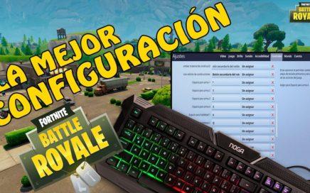 La MEJOR CONFIGURACIÓN de TECLADO para FORTNITE Battle Royale