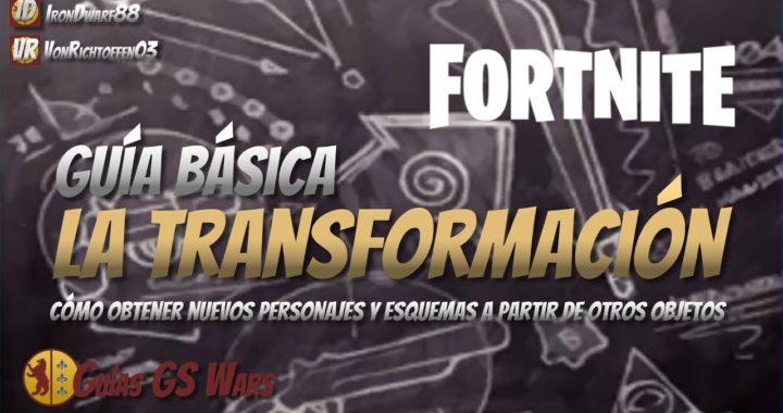 La Transformación de Objetos de FORTNITE, Explicada | GUÍA BÁSICA DE TRANSFORMACIÓN