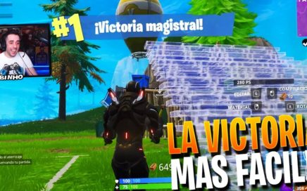 LA VICTORIA MAS FACIL!! | FORTNITE Battle Royale | Rubinho vlc