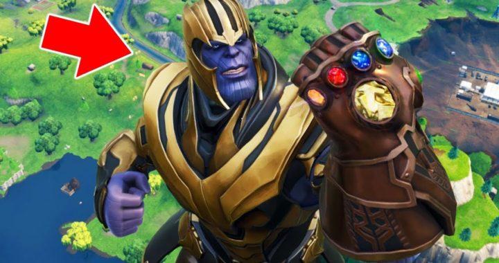 ME CONVERTÍ EN THANOS !! (Avengers: Infinity War) - Fortnite