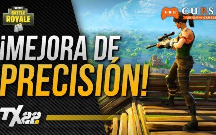 ¡MEJORAS EN PRECISIÓN! | FORTNITE: BATTLE ROYALE en Español
