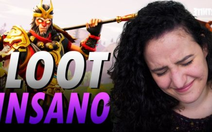 MELHOR LOOT INSANO NO NOVO MODO! | Fortnite Battle Royale | Temporada 3