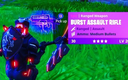 *NEW* FORTNITE BURST ASSAULT RIFLE GAMEPLAY! FORTNITE BURST RIFLE GAMEPLAY! (FORTNITE NEW BURST AR)