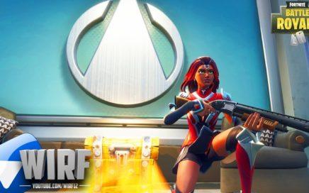"""NEW *SECRET* COMMAND CENTER LOCATION & """"Valor"""" SKIN GAMEPLAY! (Fortnite Season 4 Gameplay)"""