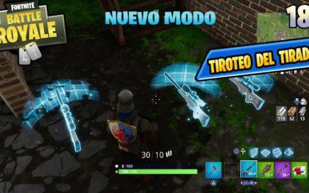 NUEVO MODO DE JUEGO *TIROTEO DEL TIRADOR*   Fortnite: Battle Royale Español PS4