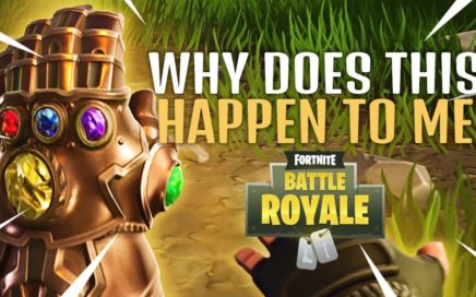 WHY DOES THIS HAPPEN TO ME | Fortnite Gameplay (Fortnite Battle Royale)