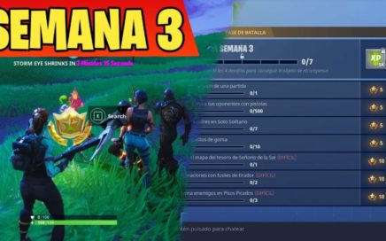 COMPLETANDO la SEMANA 3 en DIRECTO!!! Fortnite: Battle Royale