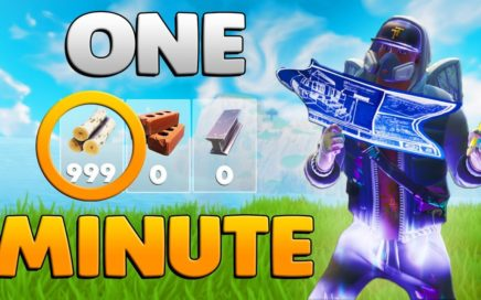 HOW TO HARVEST 999 WOOD IN 1 MINUTE | Fortnite: Battle Royale Tips