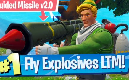 Fly Explosives Mode Gameplay! - Fortnite Battle Royale