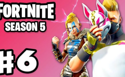 Fortnite - Gameplay Part 6 - Season 5 Battle Pass with Zanitor!