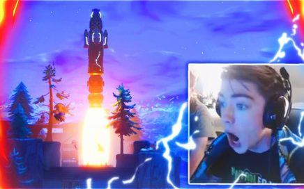 LIVE ROCKET LAUNCH Gameplay... (Fortnite BLAST OFF Event)
