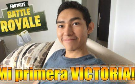 Mi primera VICTORIA en FORTNITE!! - Fernanfloo