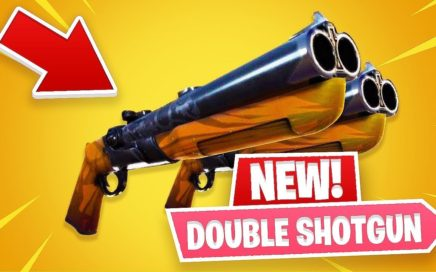 New Double Barrel Shotgun! *Pro Fortnite Player* (Fortnite New Update)