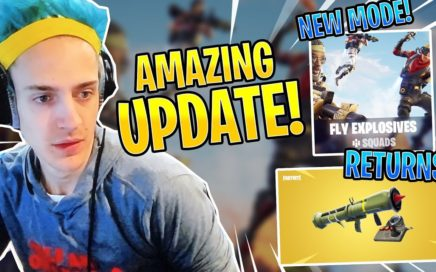 *NEW* FLY EXPLOSIVES LTM! GUIDED MISSILE RETURNS! GAMEPLAY