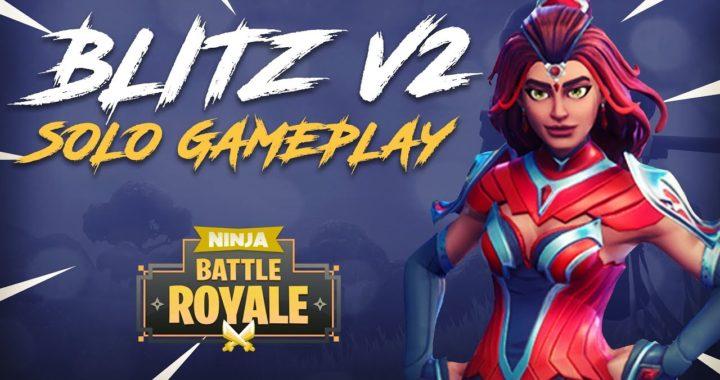 Soloing The New Blitz v2 Gamemode! - Fortnite Battle Royale Gameplay - Ninja