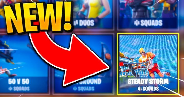 """""""Steady Storm Gameplay"""" *NEW* Steady Storm LTM! (Fortnite NEW Gamemode)"""