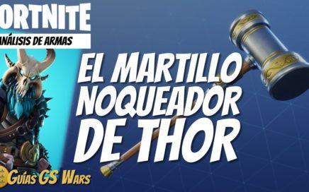 El NOQUEADOR MARTILLO DE THOR de FORTNITE   ¡Úsalo con Ragnarok!