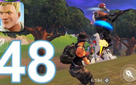 Fortnite - Gameplay Walkthrough Part 48 - Solo (iOS)