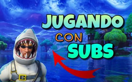 JUGANDO CON SUBS (FORTNITE ARGENTINA ) [PS4] {300 Wins}