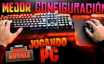 La MEJOR CONFIGURACIÓN de TECLADO/RATÓN para JUGAR a FORTNITE (PC)