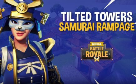 Tilted Towers: Samurai Rampage!! - Fortnite Battle Royale Gameplay - Ninja