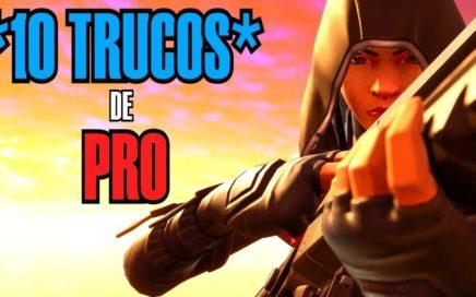 *10 TRUCOS de PRO FACILES de HACER* FORTNITE! | *TRUCOS Y CONSEJOS* (PRO TIPS)