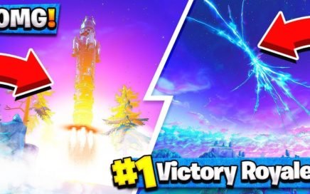 MISSILE LAUNCH GAMEPLAY! - FORTNITE: BATTLE ROYALE! (Rocket Launch Event)