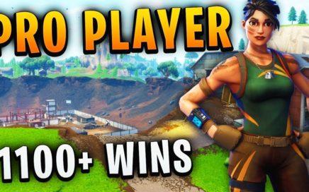 Pro Fortnite Player // 1112+ Wins // Fortnite Gameplay + Tips!