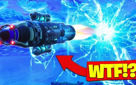 ROCKET LAUNCH *GAMEPLAY* In Fortnite Battle Royale!