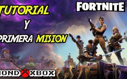 Tutorial y primera Misión en Fortnite en Xbox One S | MondoXbox