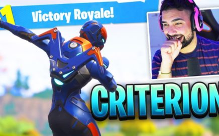 The New Fortnite CRITERION SKIN Gameplay..