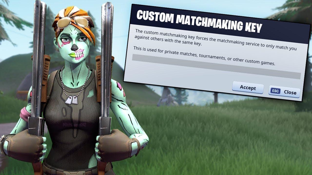 Matchmaking 2021 matchmaking custom best table fortnite keys Fortnite Creative